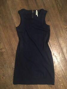 15c64cf02 Image is loading Pepe-Jeans-Navy-Dress-Size-XS-UK-Size-