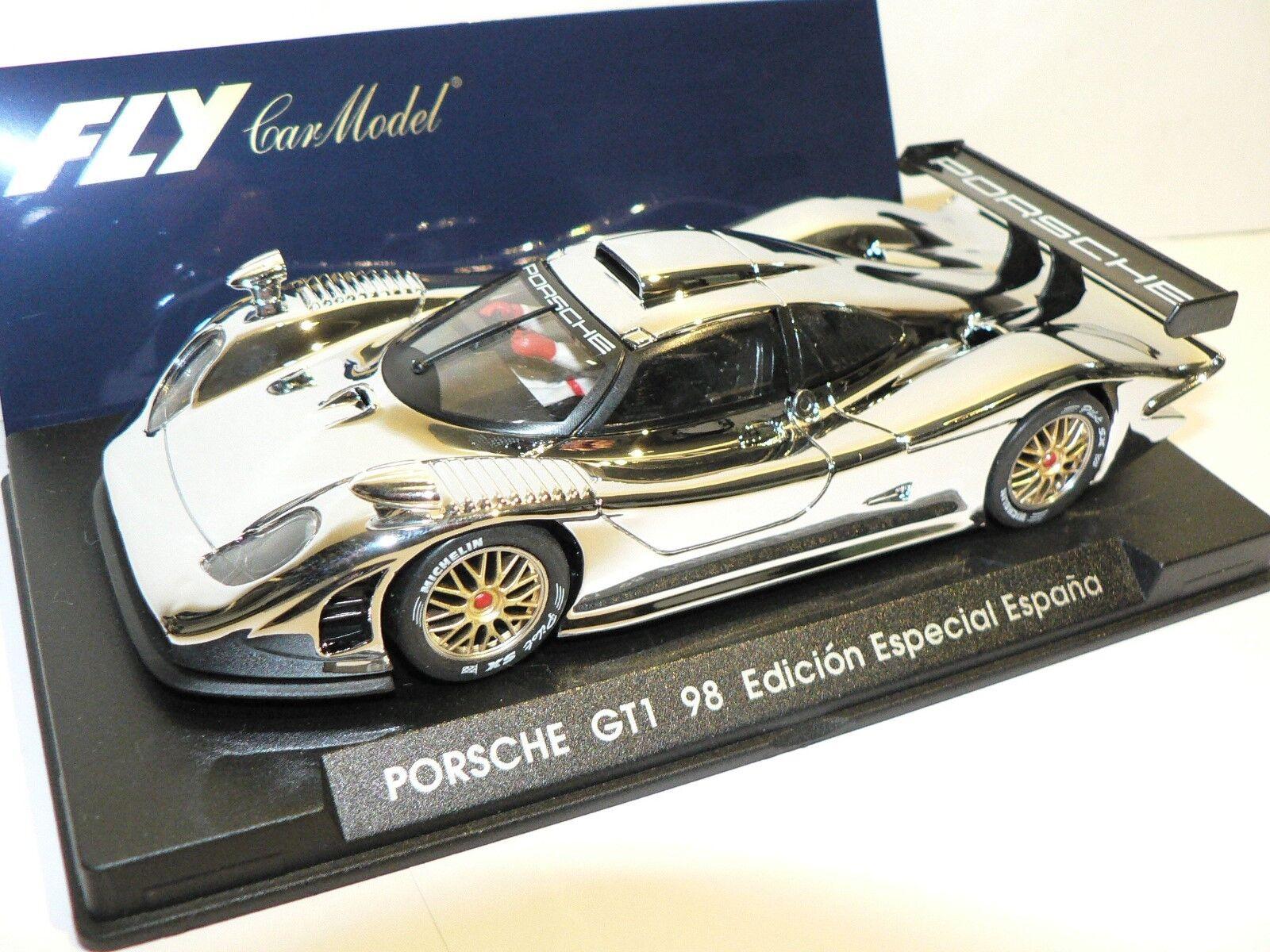 FLY PORSCHE 911 GT1 98 cromo e 73 NUOVO