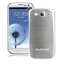 Akkudeckel Samsung i9300/ Galaxy S3 LTE -Metall/Alu/Battery Cover (Silber)