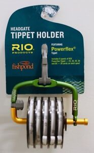 Fishpond-Headgate-Tippet-Holder-with-Rio-Powerflex-Tippet-Spools-6X-5X-4X-3X-2X