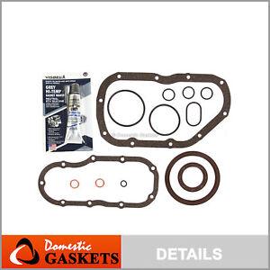Fits 99-08 Suzuki Grand Vitara XL7 Tracker 2.5L 2.7L DOHC Lower Gasket Set