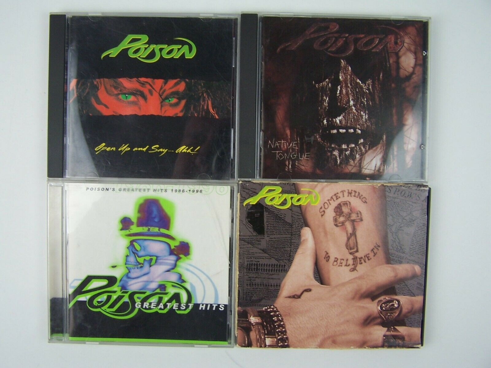 Poison 4xCD Lot #2