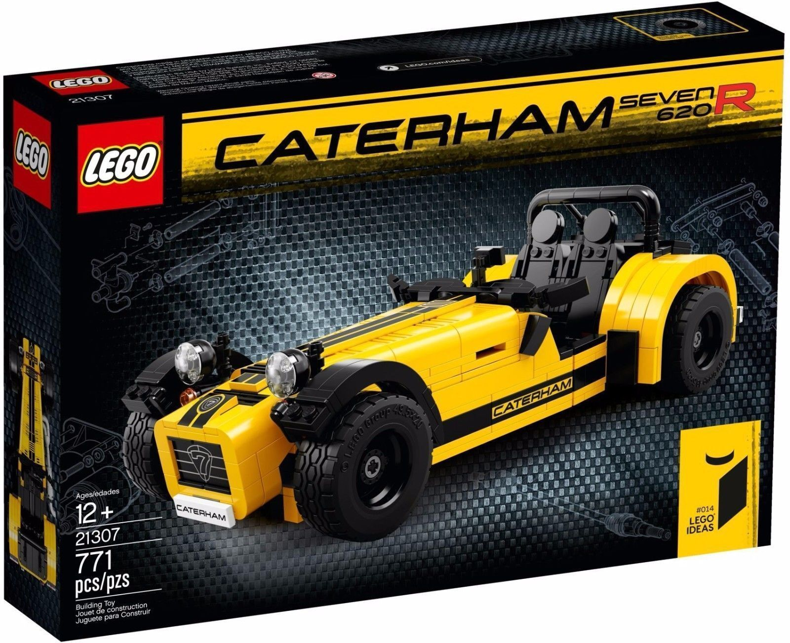LEGO 21307 Caterham Seven 620R - Brand New Limited Edition - WORLDWIDE SHIPPING