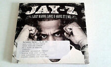 JAY-Z I JUST WANNA LOVE U RARE PROMO 4 TRACKS