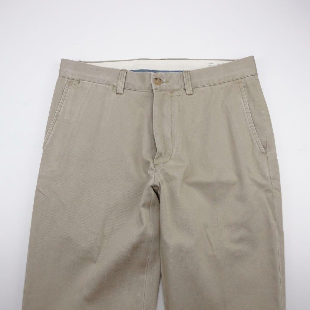 POLO RALPH LAUREN Classic Fit Flat Front Casual Pants Taupe Mens 31x30