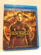 The Hunger Games Mockingjay Part 1 Blu-Ray 2014 Digital HD Katniss Movie