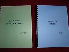 RAPHA'S STORY FIRST DECADE 1968-78 & 1978 -1989 JULIA KETCHAM 1992