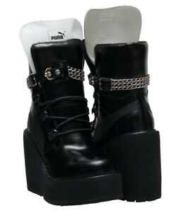 5e5dfc958a1 Image is loading Puma-Sneaker-Boot-Wedge-Rihanna-Fenty-Black-Size-