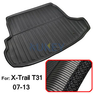 For-Nissan-X-Trail-XTrail-08-13-Rear-Trunk-Cargo-Liner-Boot-Mat-Tray-Floor-Pad