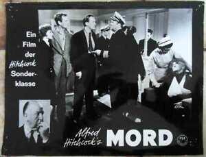 Original-Aushangfoto-Alfred-Hitchcock-Mord-Deutschland