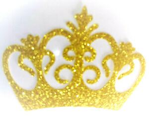 COURONNE-couleur-OR-Patch-termocollant-hotfix-Glitter-GOLD-6x4-cm
