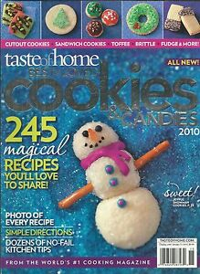 Details About Taste Of Home Magazine Christmas Cookies Candies Toffee Brittle Fudge Recipes