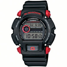 Casio Men's Dw9052-1c4cr G-shock Black Watch With Red Pushers K1