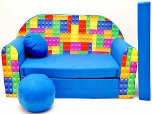 Childrens Sofa Bed Fold Out Foam