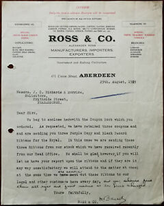 Ross-amp-Co-Specialists-In-Office-Supplies-Aberdeen-Letterhead-29th-Aug-1929