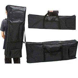 protable 61 key piano keyboard case bag padded electric music carry oxford cloth ebay. Black Bedroom Furniture Sets. Home Design Ideas