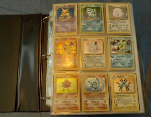 Vintage Original Rare Holo First Edition Pokemon Card Lot