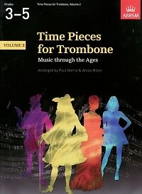 Initiative Time Pieces For Trombone Vol 2 Harris/miller* Brass