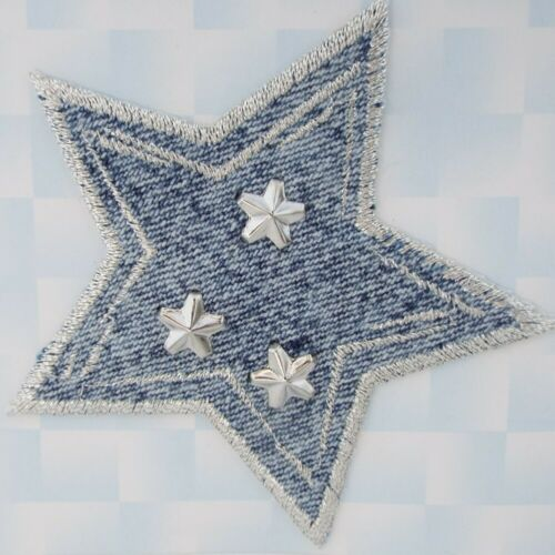 9 diseño de calidad de Hierro o coser en Chica Corazón Amor Star Jeans Abrigo Parche Motivo