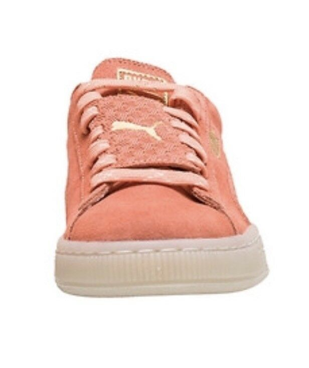 b4bb91fa24eb PUMA Suede Epic Remix Grade School Youth Girl SNEAKERS Shoes Salmon ...