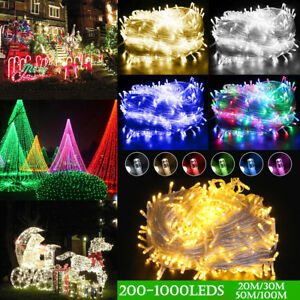 AU-Plug-Waterproof-20-100m-1000LED-String-Fairy-light-Home-Christmas-Decor
