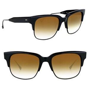 ecbb16cfd3dc Image is loading DITA-TRAVELLER-Sunglasses-19014B-BROWN-GOLD-Flash-lens-