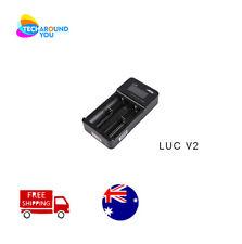 Authorised Efest LUSH Q8 Intelligent LED battery charger for 26650//18650//16340