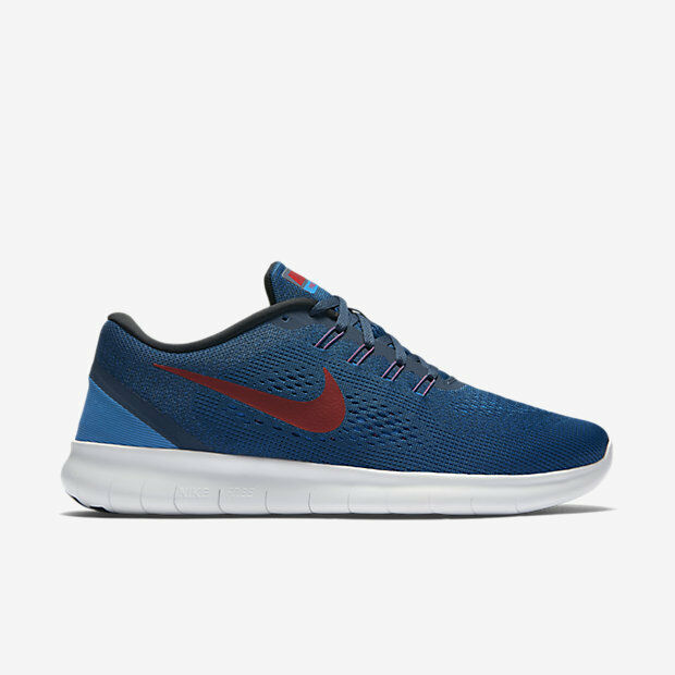 Nike Free RN Squadron bluee Men's Running Training shoes Size 12