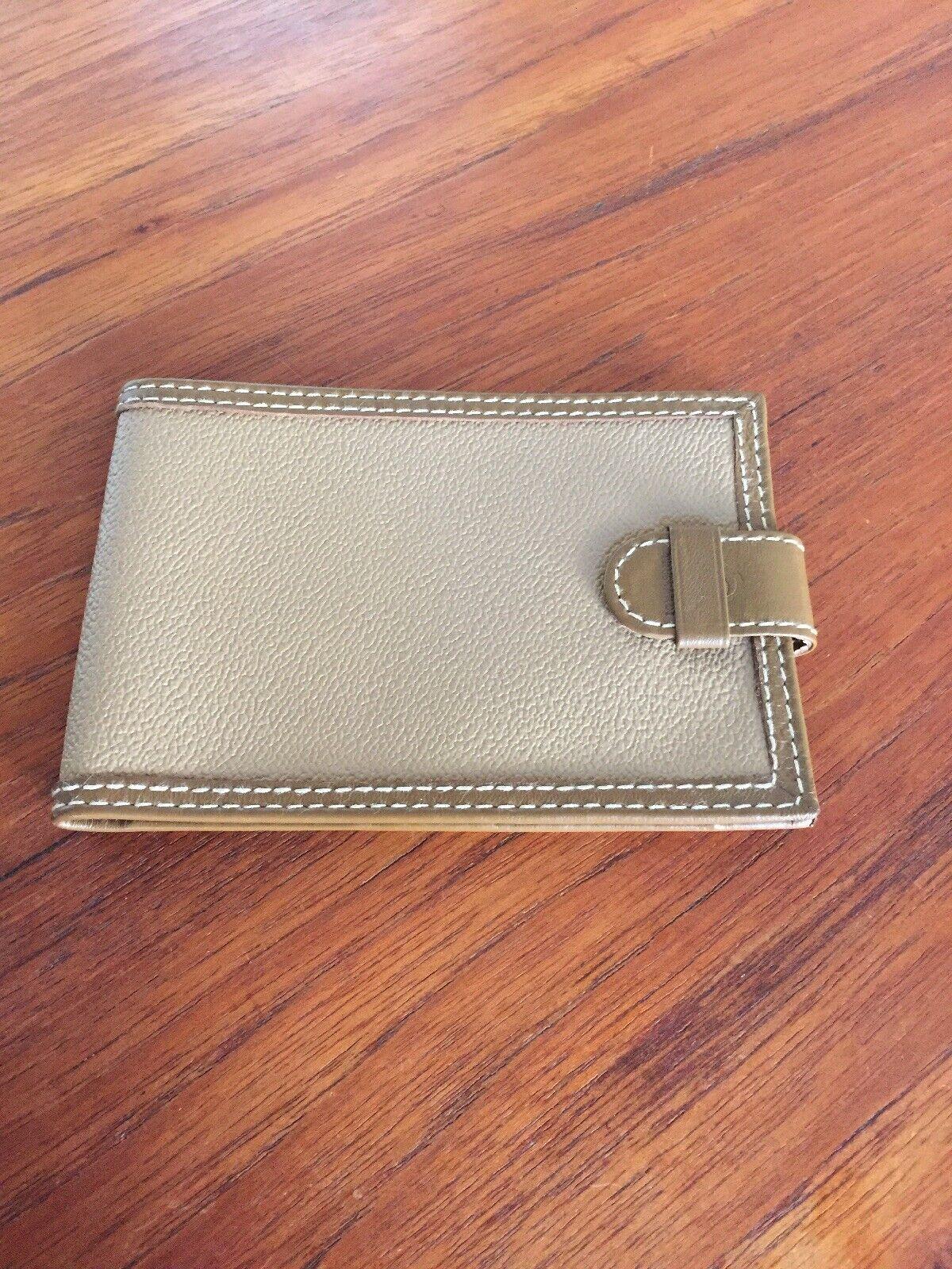 Trussardi Brown Note/document Wallet Brand New