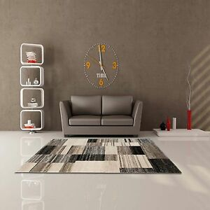 Teppich Modern Flachflor Softtouch Highline Rechteck Wohnzimmer ...