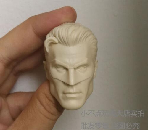 1//6 scale Custom blank Head Sculpt Green Lantern unpainted