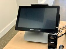 Micros Oracle Pos Complete System E7 2 Units