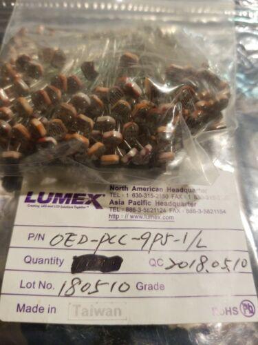 Lot of 200 Lumex OED-PCC-9P5-1L phototransistors HARD TO FIND PARTS USA LOCATI
