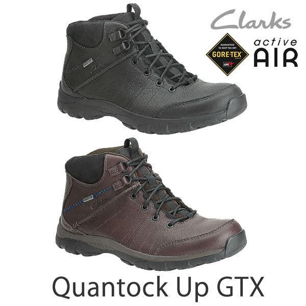 Clarks Hombres  Marrón Quantock Up Gtx   ROCK ACTIVE AIR US 8 G