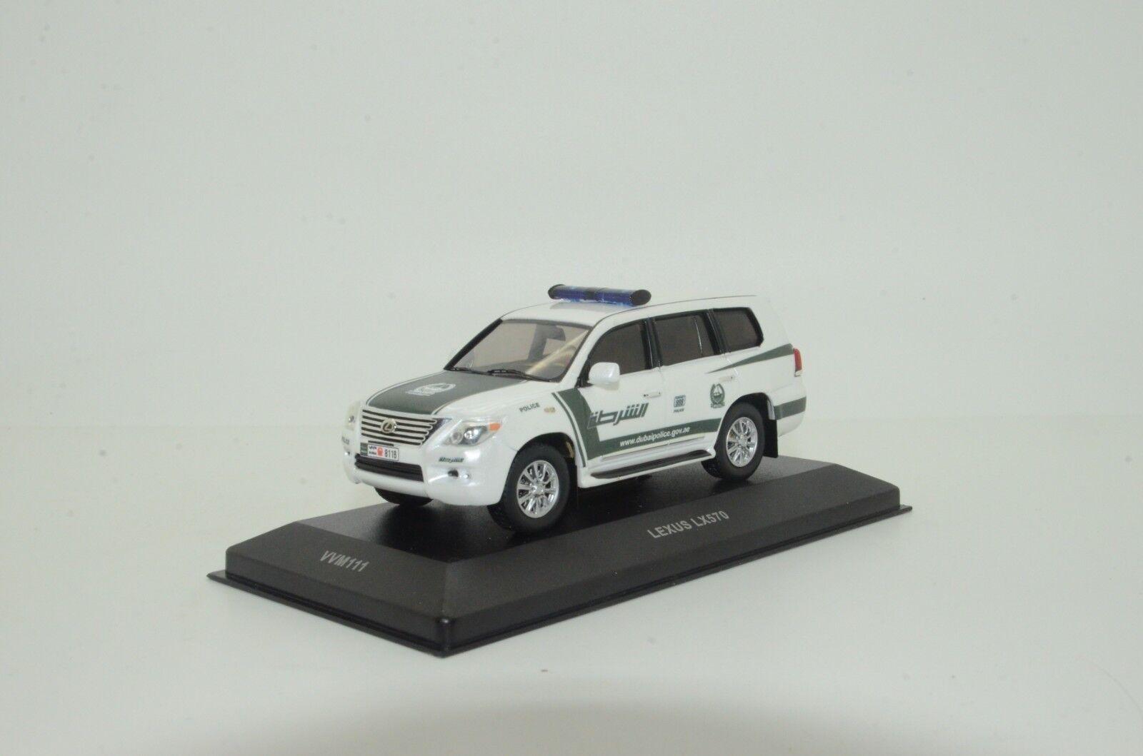 rara    Lexus LX570 Dubai policía Hecho a Medida 1 43
