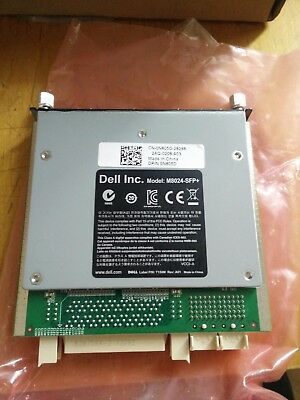 Cards Dell PowerConnect M8024 10GE T300D Switch Module w// 10GE CX4 /& 10GE SFP