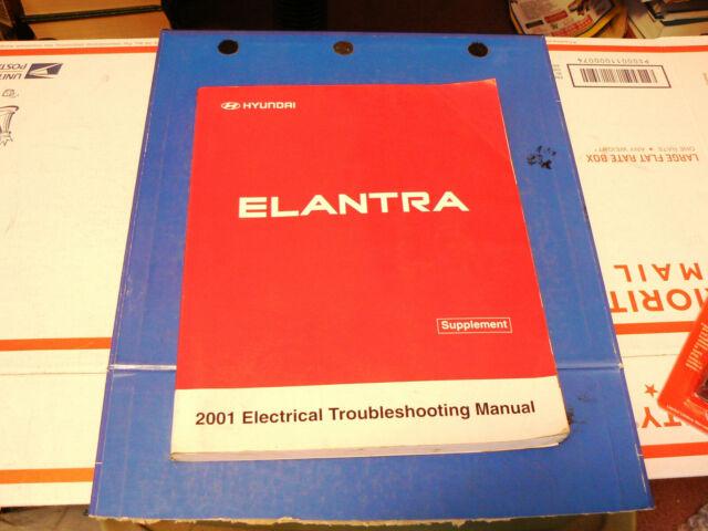 2001 Hyundai Elantra Electrical Troublshooting Manual
