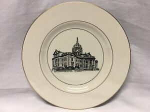 Woodmere-China-Washington-County-Court-House-Collectors-Plate