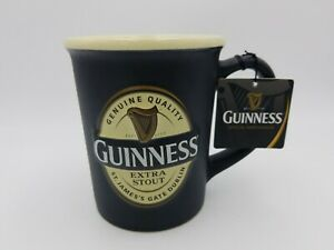 Guiness Mug Beer Stein Black nwt