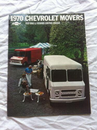 OEM FACTORY SALES BROCHURE LITERATURE 1970 CHEVY CHEVROLET MOVER STEP VAN FORWAR
