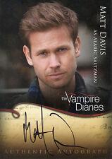 Matthew Davis ++ Autogramm ++ The Vampire Diaries ++ Pearl Harbor ++ Cult