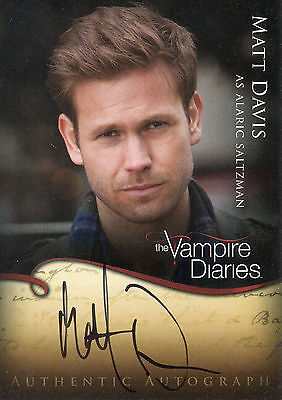 Matthew Davis ++ Autogramm ++ The Vampire Diaries ++ Pearl Harbor ++ Cult
