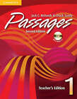 Passages Teacher's Edition 1 with Audio CD: An Upper-Level Multi-Skills Course by Jack C. Richards, Chuck Sandy (Mixed media product, 2008)