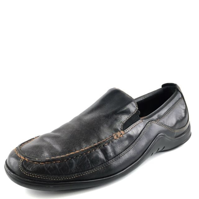 Cole Haan Tucker Venetian Black Leather Casual Loafers Mens Size 8.5 M*