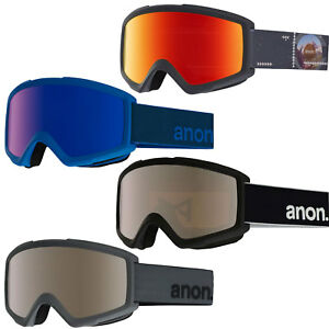 anon Helix Goggle Herren-Skibrille Snowboardbrille Brille Schneebrille Winter Skisport & Snowboarding Bekleidung