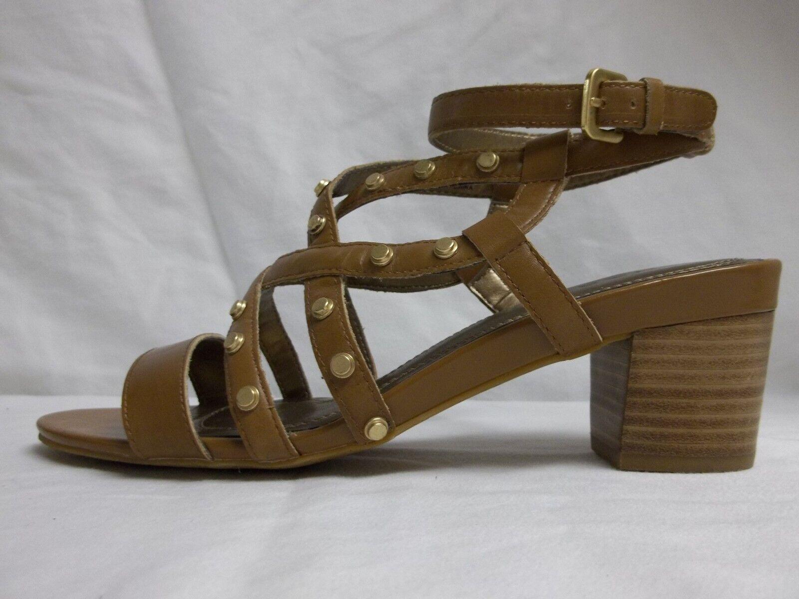 Tahari Sz 8 Open M Kennedy Butterscotch Leder Open 8 Toe Heels New Damenschuhe Schuhes NWOB 5c66c1