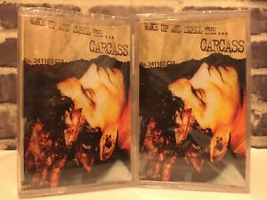 Carcass Wake Up and Smell the Carcass 2X Cassette