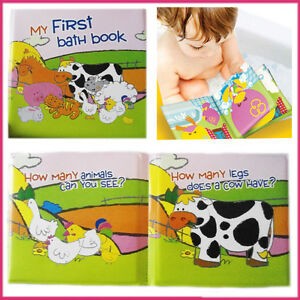 Baby-Bath-Book-Kids-Soft-Play-Toy-Toddler-Learning-Educational-Waterproof-Fun