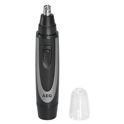 AEG NE 5609 - Cortapelos para nariz y orejas, color negro