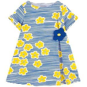 Toddler-Baby-Kids-Girls-Dress-Girl-Outfit-Short-Sleeve-Dresses-2T-3T-4T-5-6-7
